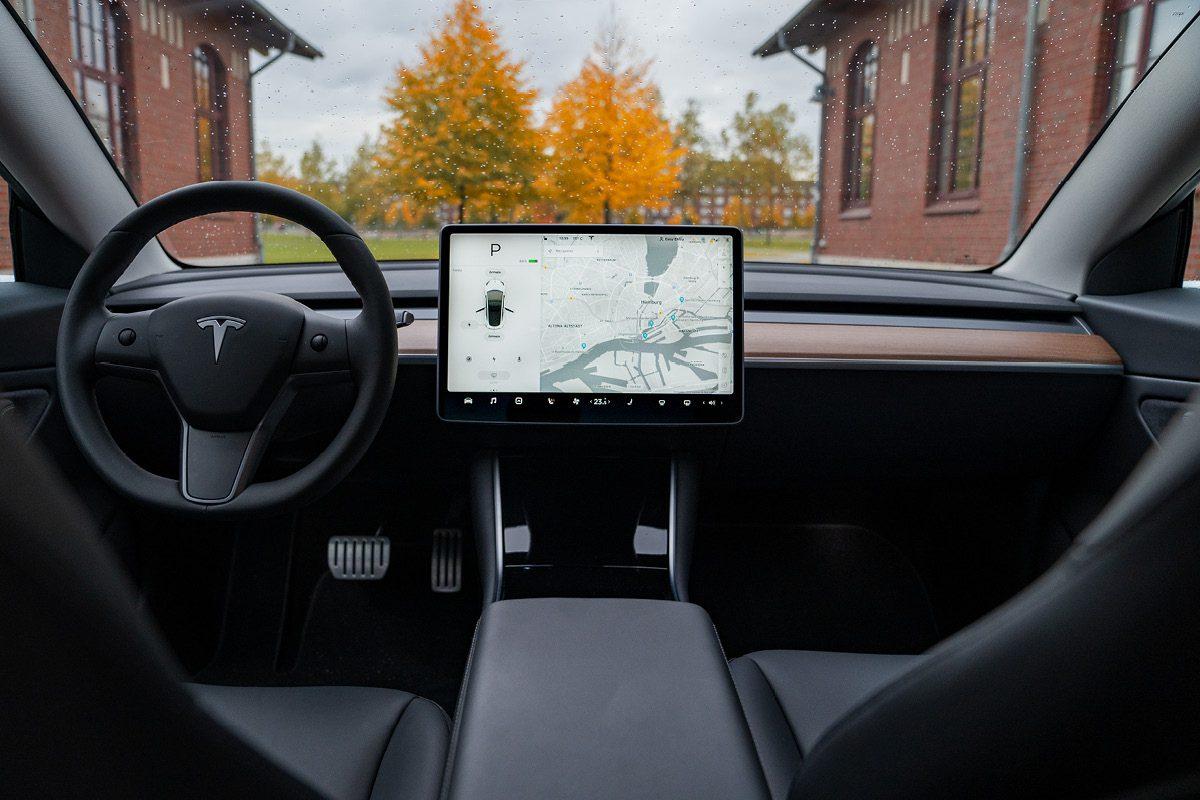 Tesla Model 3 - Innenausstattung